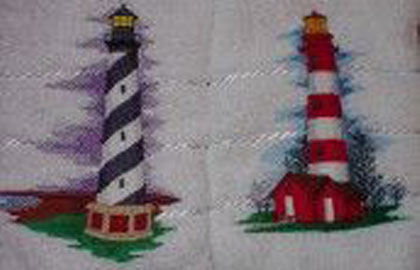 Lighthouses - Embroidery By Design